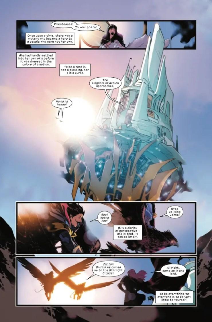 Marvel Preview: Excalibur #13