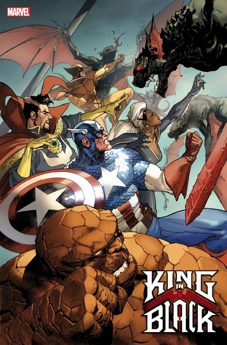 Marvel Comics reveals 'King in Black' #1 variant covers