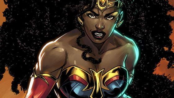 DC First Look: Nubia in 'DC Future State: Immortal Wonder Woman'