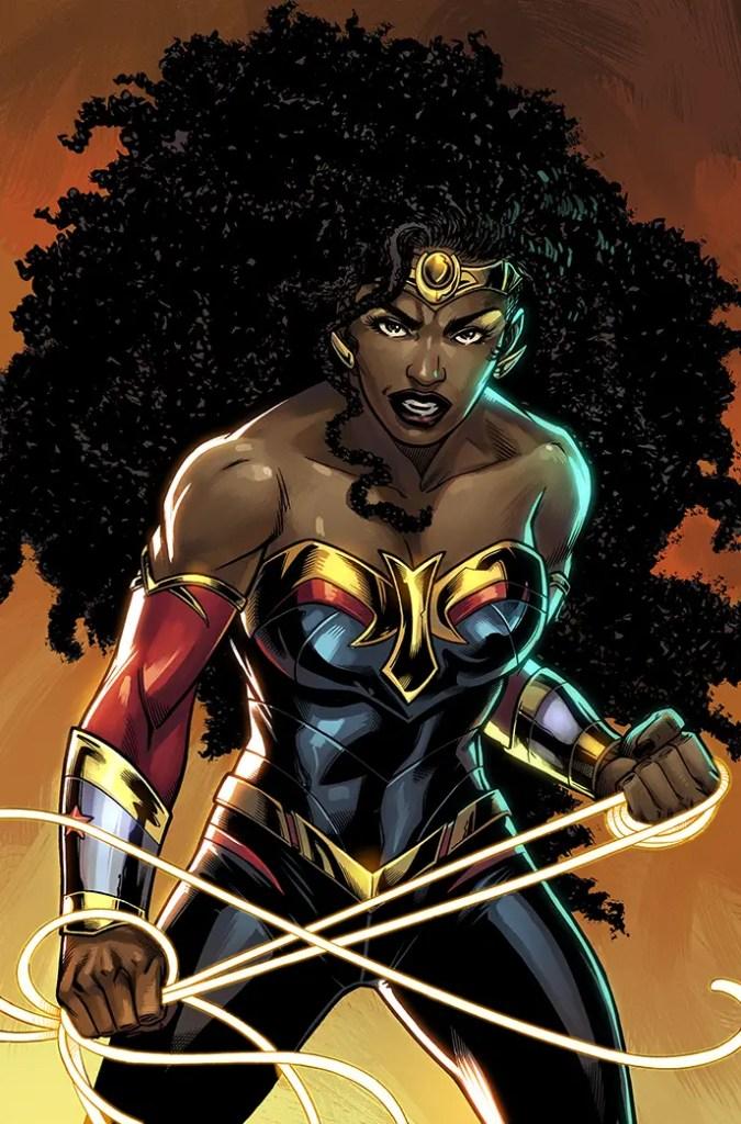 Nubia Wonder Woman Future State DC Comics