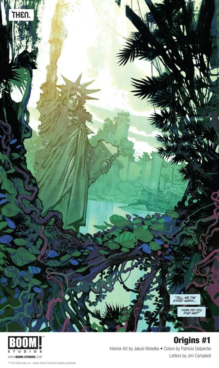 BOOM! First Look: Origins coming November 2020