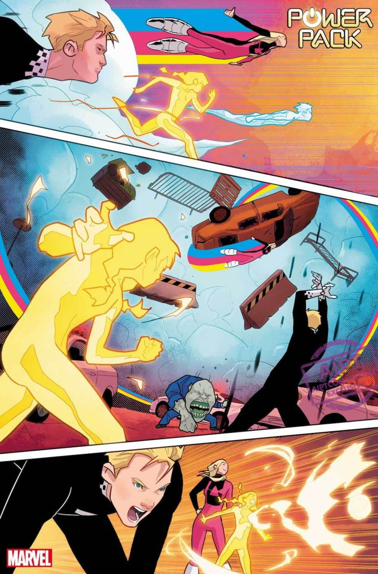 Power Pack #1 Preview Marvel