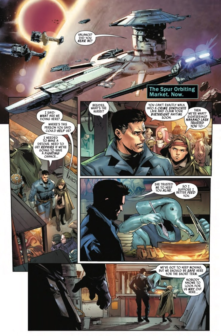 Marvel Preview: Star Wars: Bounty Hunters #6
