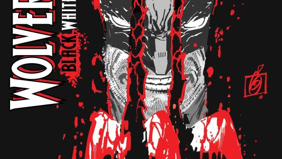 Wolverine slashes through Ron Garney's 'Wolverine: Black, White, & Blood' variant