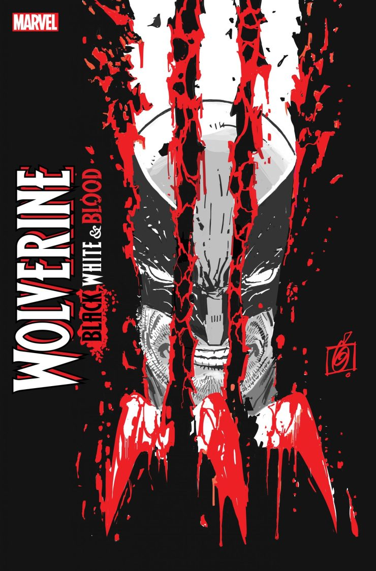 Wolverine: Black, White, & Blood #1 Variant Ron Garney