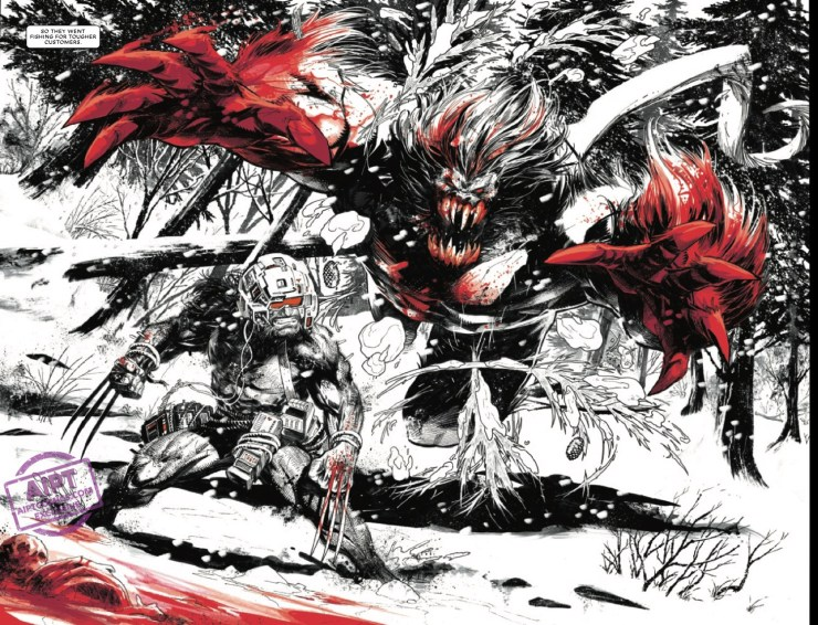 Wolverine: Black, White & Blood #1 Preview