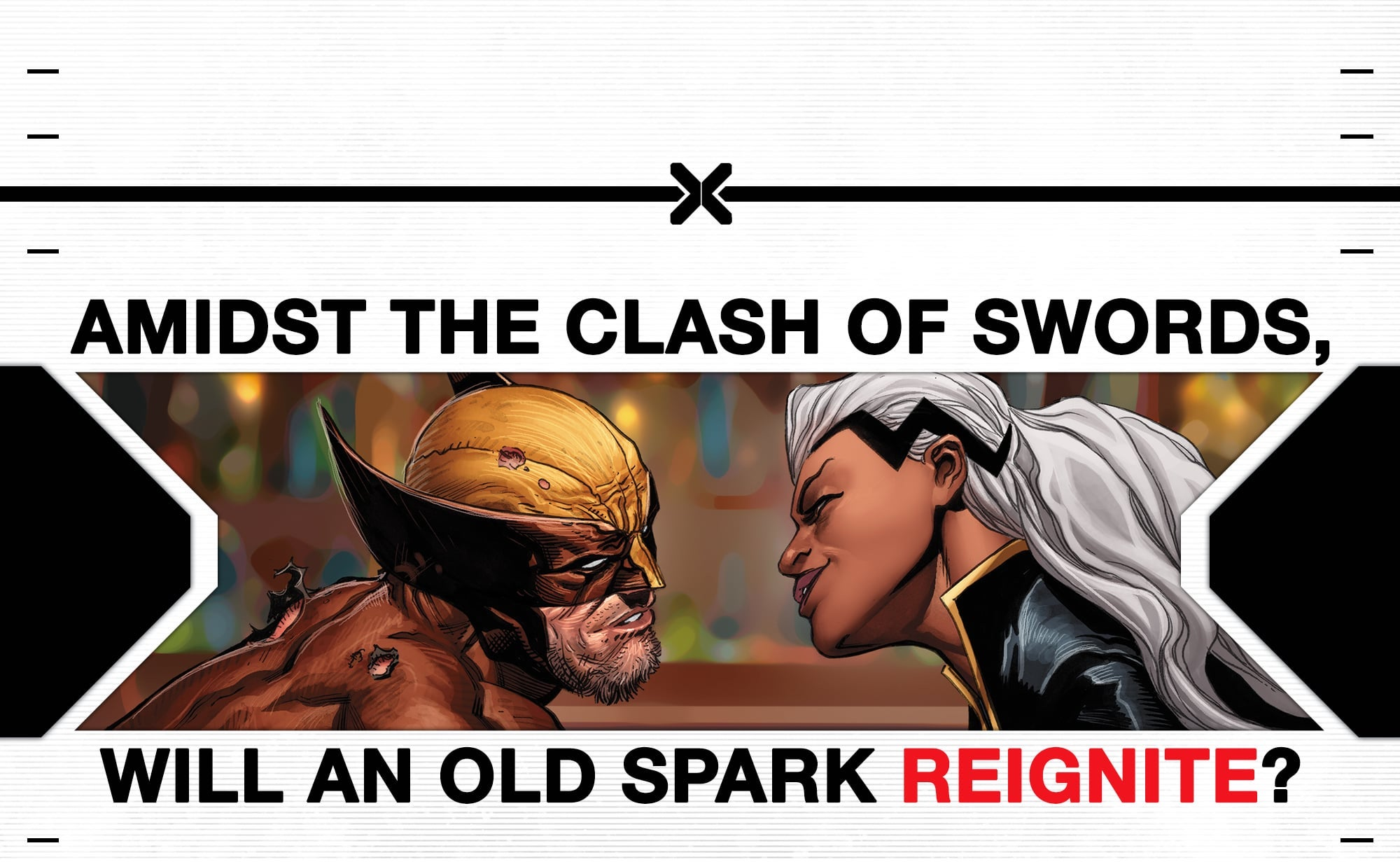 Relationship wolverine storm The marriage