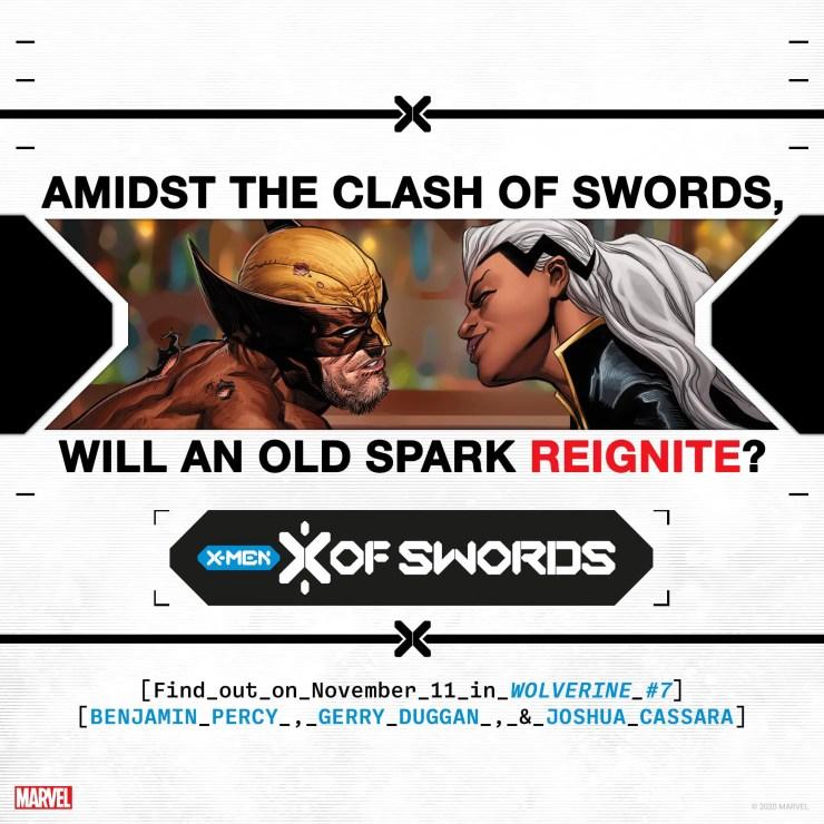 X of Swords teaser Marvel Comics