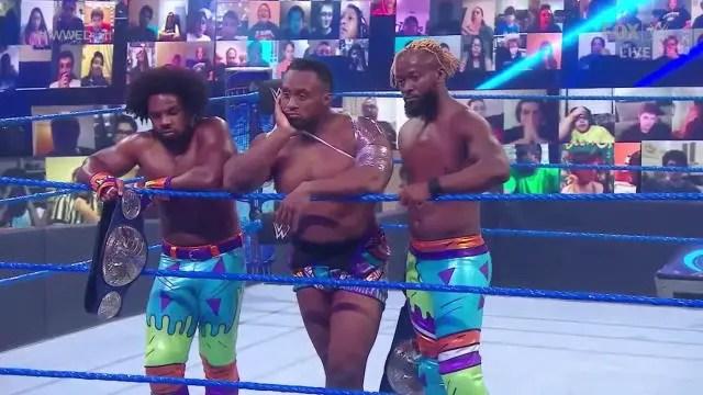 WWE Draft - New Day Split