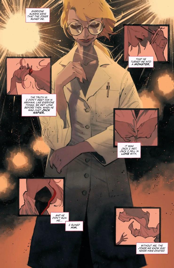 DC Preview: Batman: White Knight Presents: Harley Quinn #1