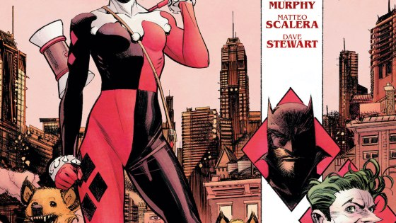 DC Preview: Batman: White Knight Presents: Harley Quinn #1