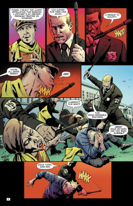 A 'Happy Hour' conversation with writer Peter Milligan