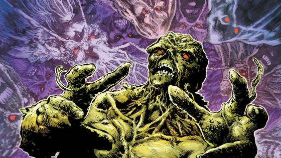 It's Halloween, and DC invites you to welcome Swamp Thing to your witching-hour festivities.