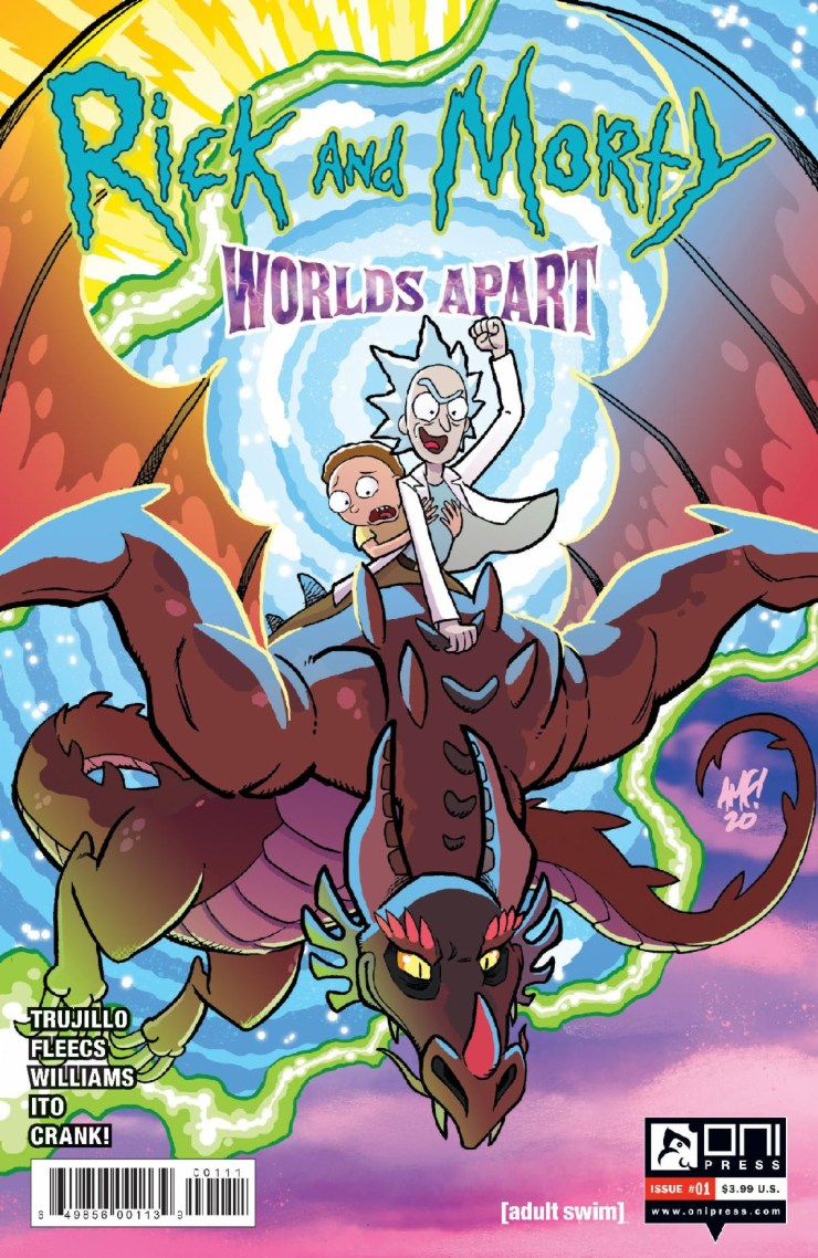 Rick and Morty: Worlds Apart Oni Press