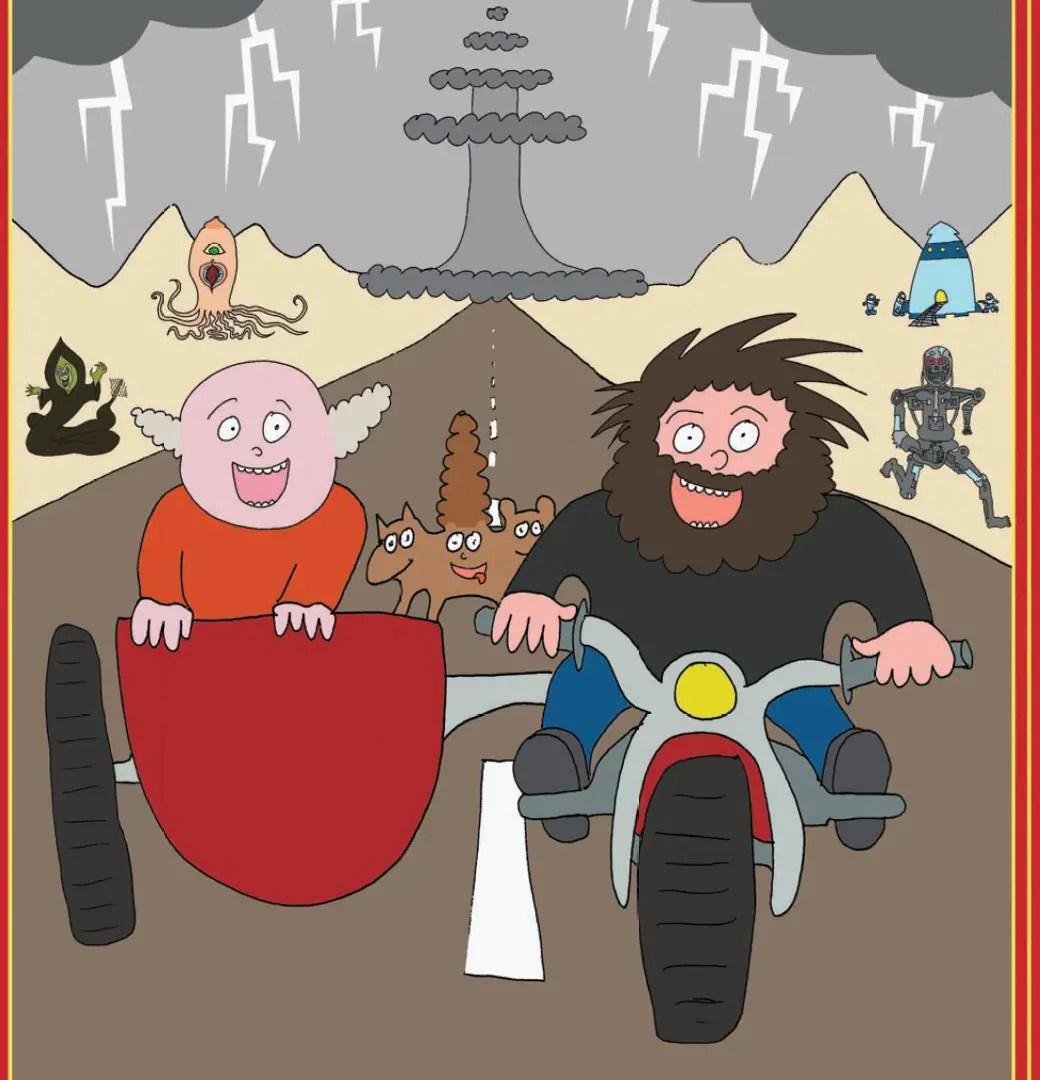 Tenacious D: Post-Apocalypto: The Graphic Novel