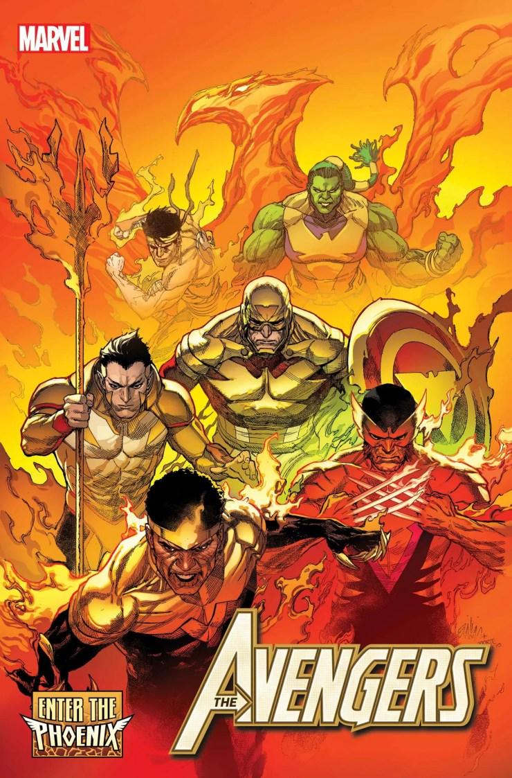 Avengers #40 Enter the Phoenix Marvel Comics