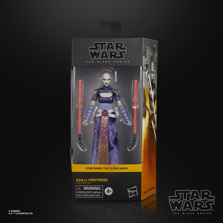 Black Series Asajj Ventress