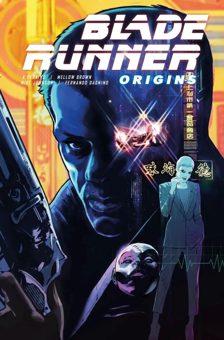 Blade Runner Origins #1 preview 2021