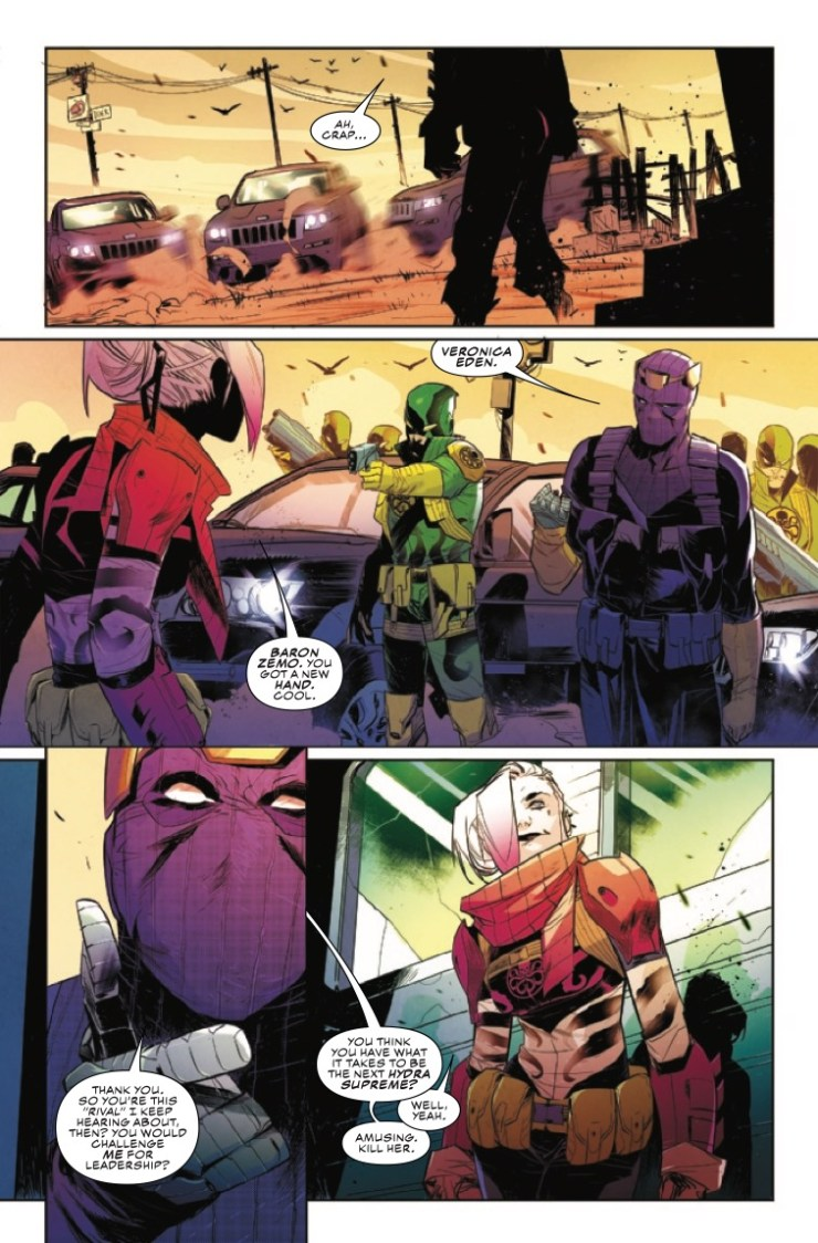 Marvel Preview: Falcon & Winter Soldier #5