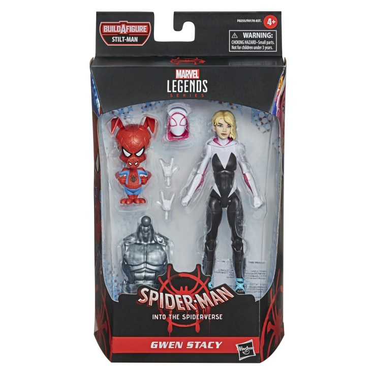 Into the Spiderverse Gwen Stacy