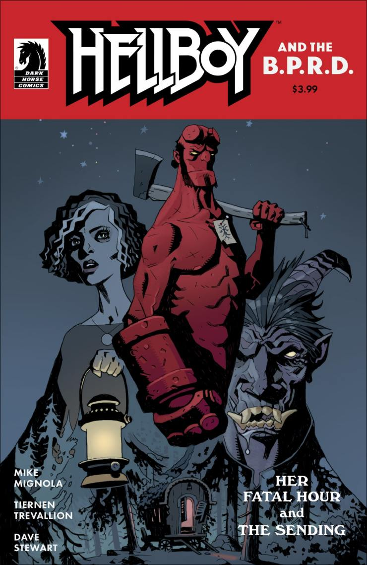 Talking 'Hellboy and the B.P.R.D.: Her Fatal Hour' with artist Tiernen Trevallion