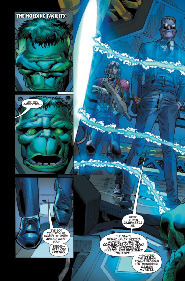 Marvel Preview: Immortal Hulk #40