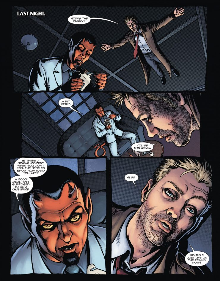 Hellblazer: Rise and Fall