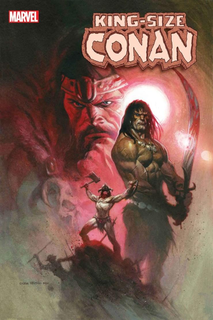 King-Sized Conan #1 2020 Marvel Comics