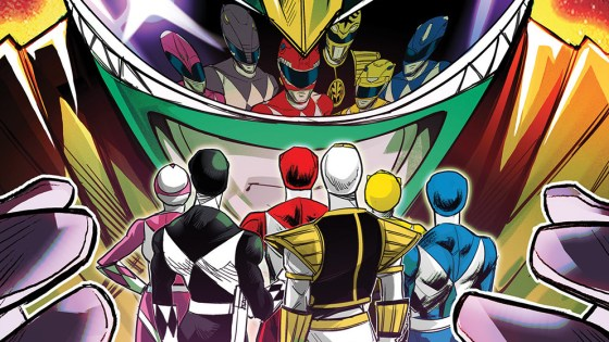 'Mighty Morphin' #1 review