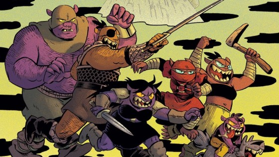 BOOM! First Look: Orcs! by Christine Larsen