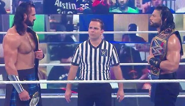 WWE Survivor Series 2020 -Roman Reigns vs. Drew McIntyre