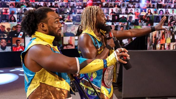 New Day on WWE Raw