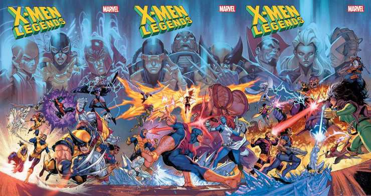 X-Men Legends #1 February Marvel Solicitations