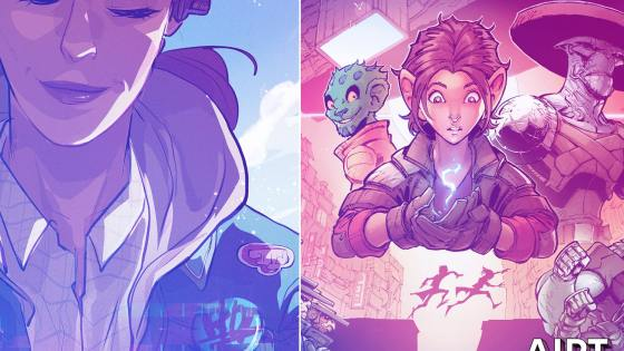 Dark Horse to publish ComiXology Originals 'Stone Star' Vol. 1 and 'Lost on Planet Earth'
