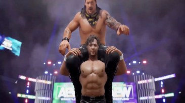 jericho and kenny omega in aew video game
