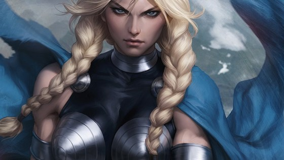 First Look: Artgerm's 'King in Black: Return of the Valkyries' #1 variant cover