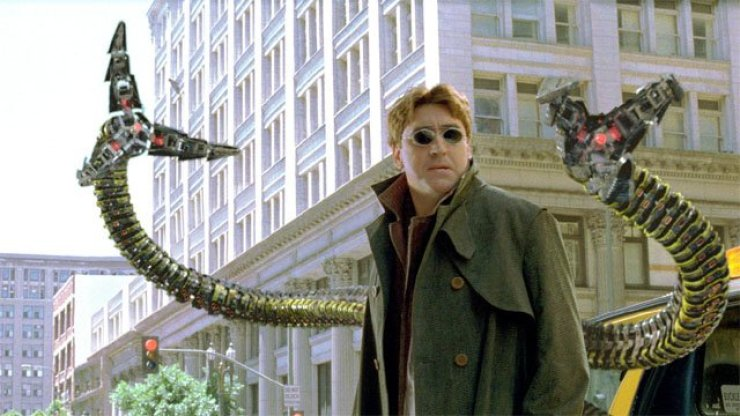 Alfred Molina as Dr. Octopus (Sony)