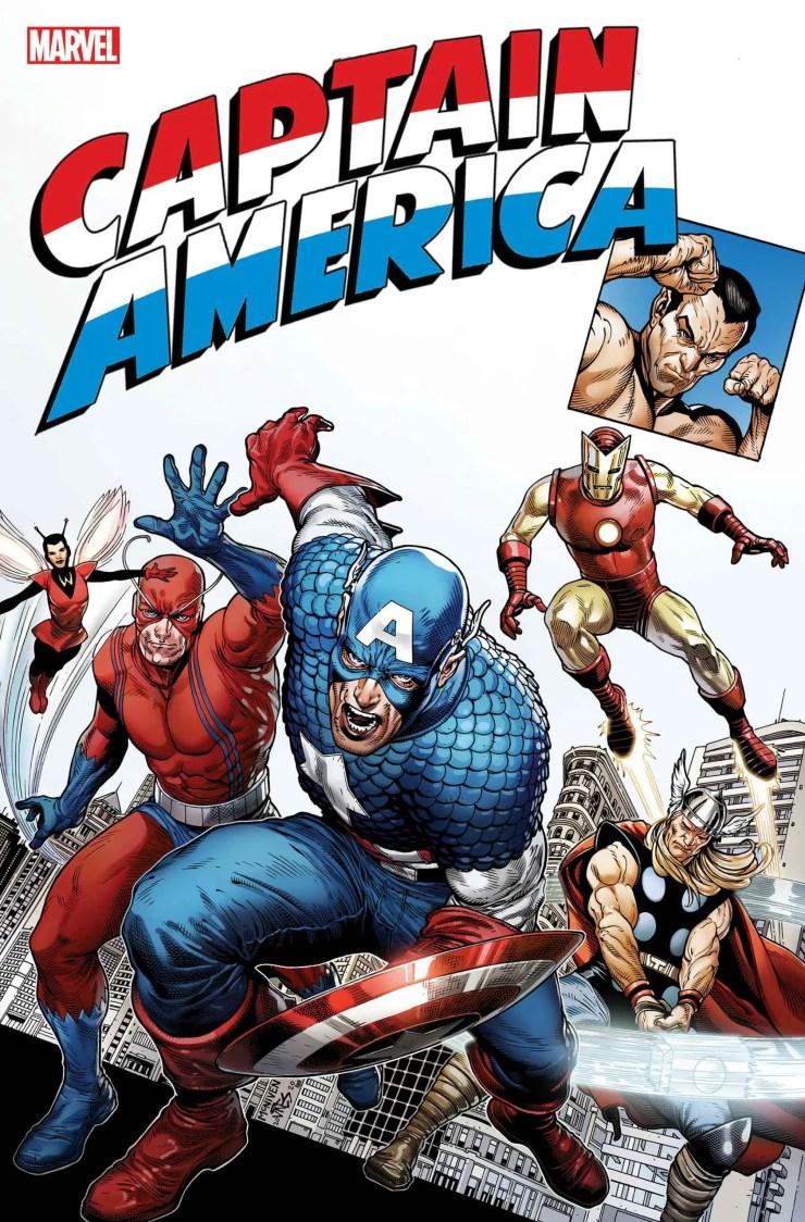 Captain America Tribute #1 cover Steve McNiven