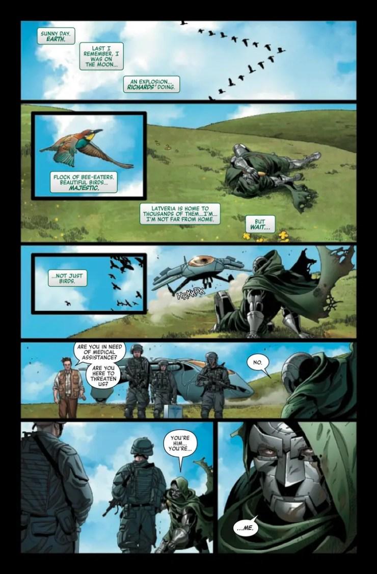 Marvel Preview: Doctor Doom #10