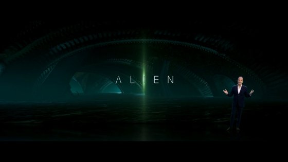 Disney Investor Day Alien