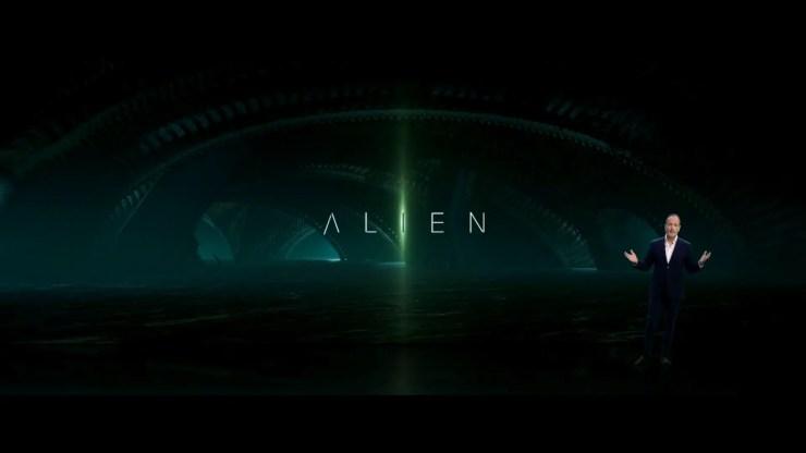 Disney Investor Day Alien