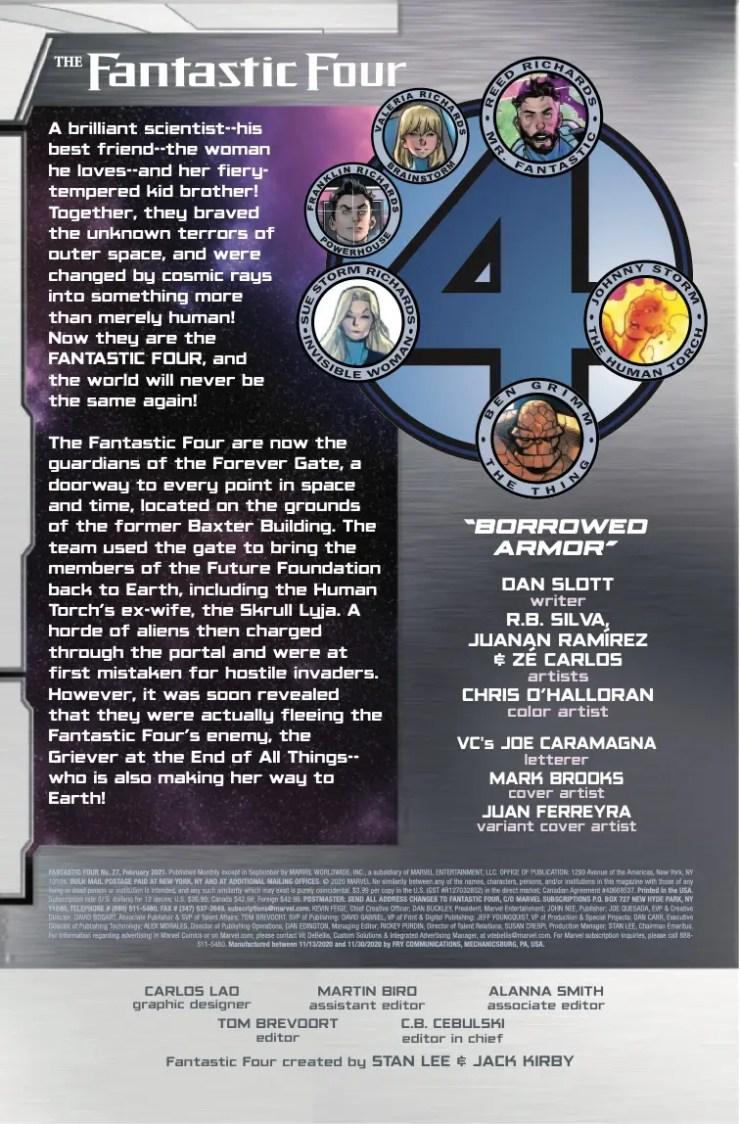 Marvel Preview: Fantastic Four #27