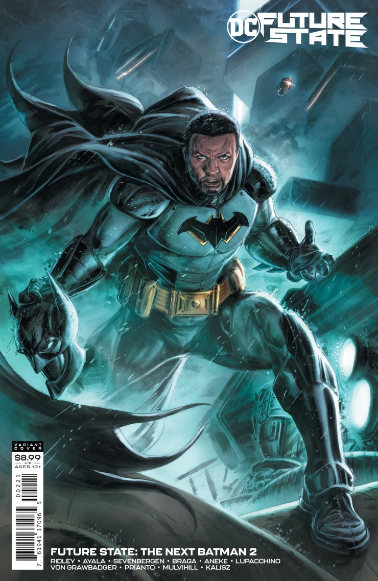 Tim Fox Batman Future State DC Comics