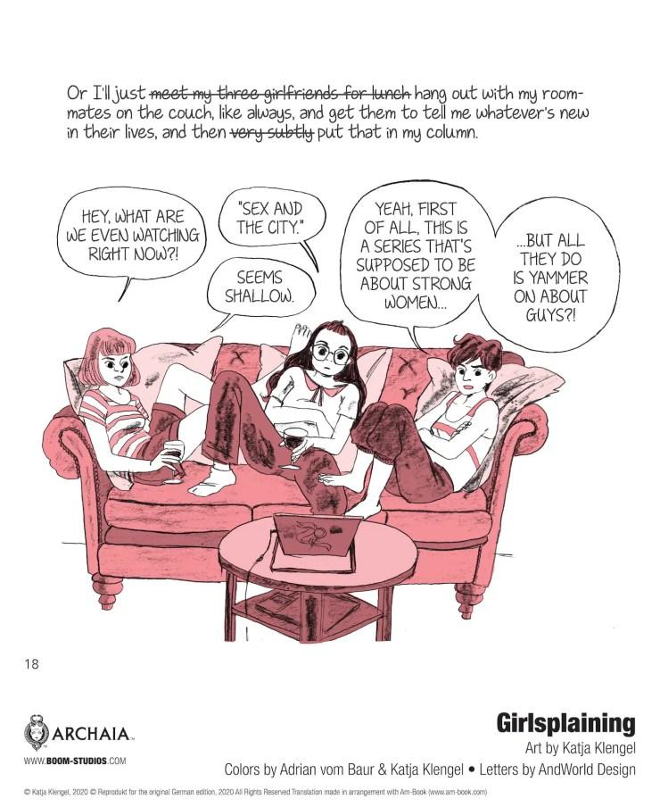 BOOM! Preview: Girlsplaining: A (Sorta) Memoir