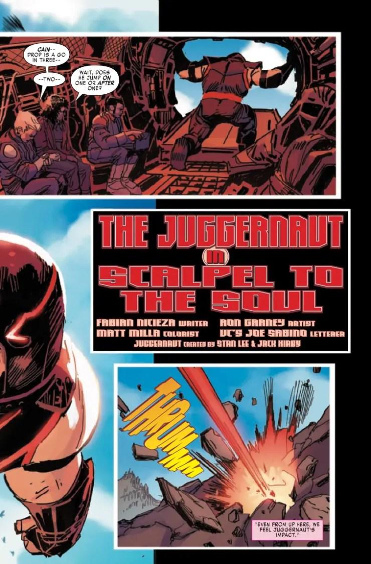 Marvel Preview: Juggernaut #4