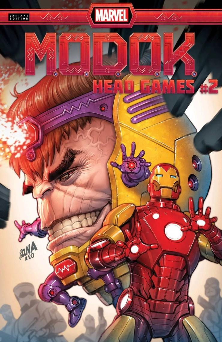 Marvel Preview: M.O.D.O.K.: Head Games #2