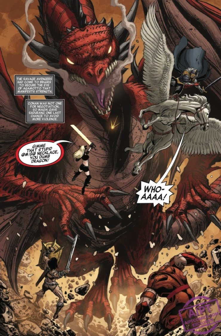 Savage Avengers #16 preview 2020