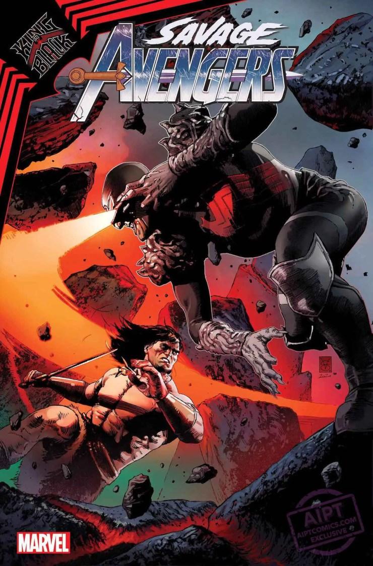 Savage Avengers #19 2021 Cyclops X-Men Conan