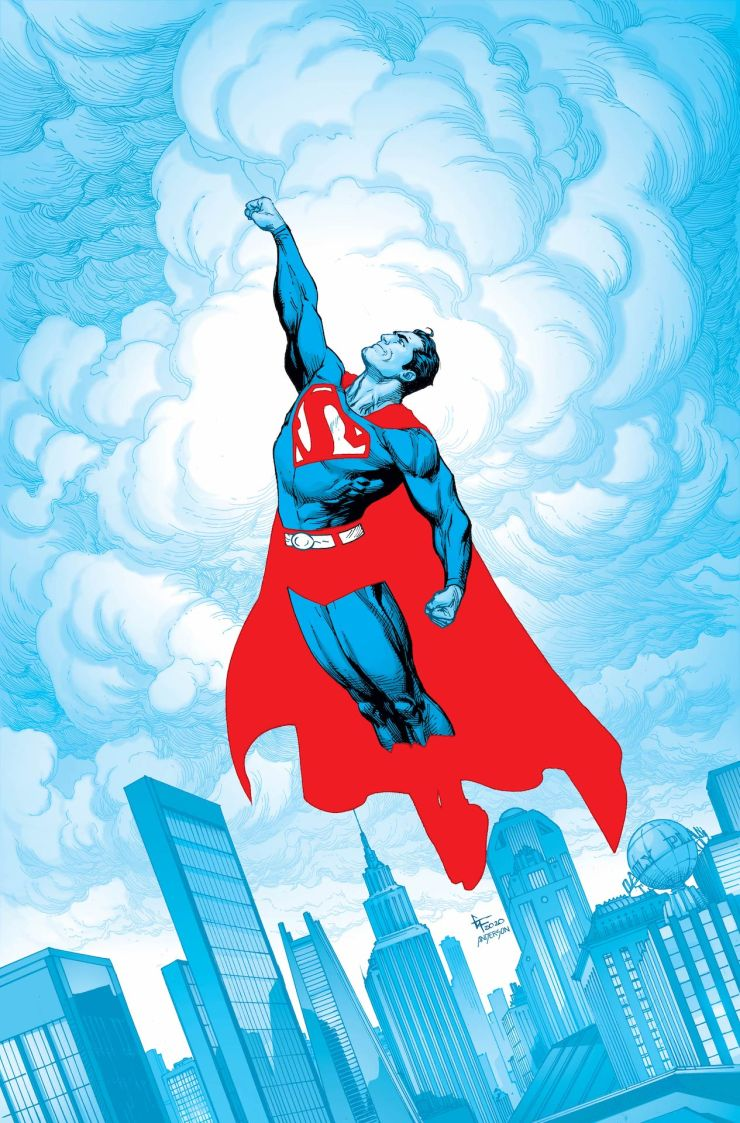 Superman: Red & Blue' anthology series for March 2021 Gary Frank