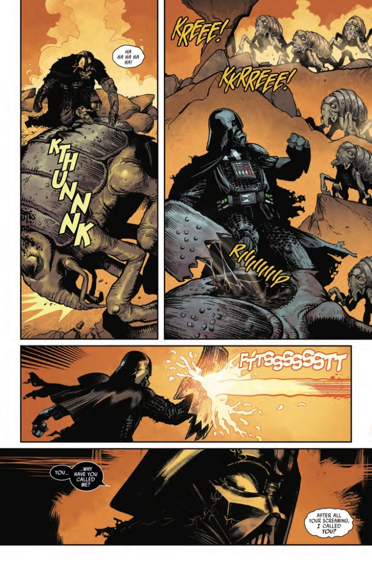 Marvel Preview: Star Wars: Darth Vader #8